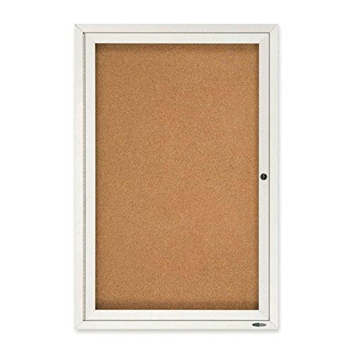 - Quartet Enclosed Cork Indoor Bulletin Board, 2 x 3 Feet, Aluminum Frame (2363)