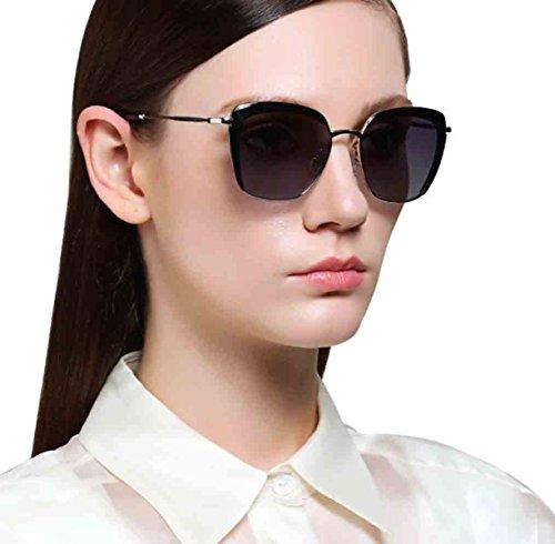 Gafas De La Moda Metálico Vendimia ULTRAVIOLETA Del De La 3 Protección La De De Gafas Sol Polarizadas Retras De Marco Mujeres De Las Sol tTaW8