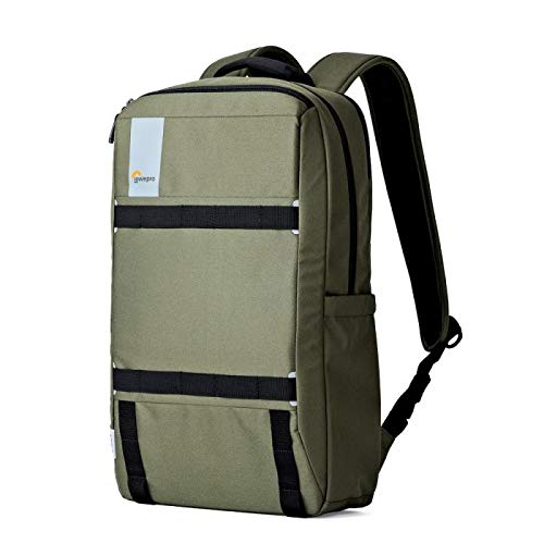 """Lowepro Urbex BP 20L Backpack for Up to 15"""" Laptop and 10"""" Tablet, Dark Green"""