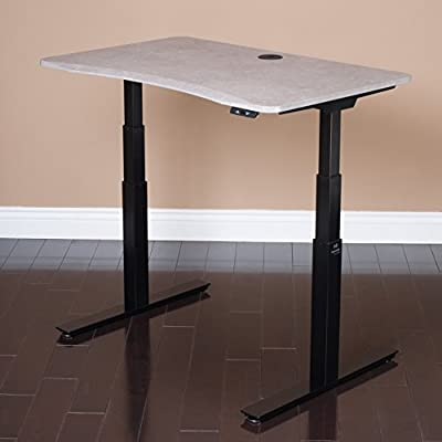 MojoDesk - Height Adjustable Electric Standing Desk - Ergonomically Correct Sit-To-Stand Desk