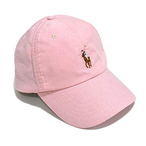 Polo Ralph Lauren Baseball Hat (One Size, Oxford Pink)
