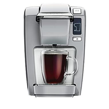 Keurig K15 Coffee Maker, Platinum (New Packaging)