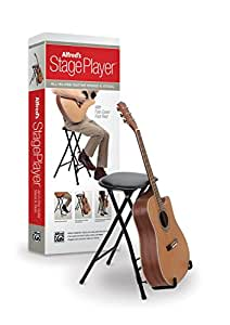 Amazon Com Alfred S Stageplayer Guitar Stand And Stool