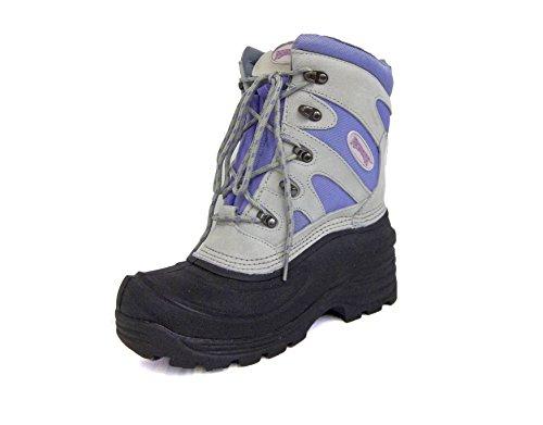 Ranger Womens A697 Lark Pac Boot,White/Violet (9)