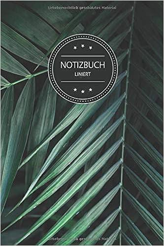 Notizbuch Liniert Grünes Liniertes Notizbuch Für Alle