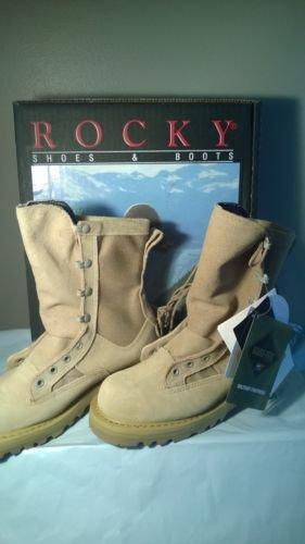 Rocky Footwear Men's Mil-Spec Cold Weather Boot,Desert Tan,us 4.5W ()