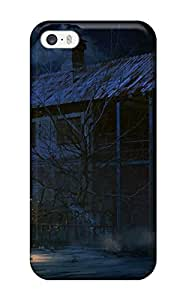 Shayna Somer's Shop 2015 night building creepy anime haunted buildings dark Anime Pop Culture Hard Plastic iPhone 5/5s cases WANGJING JINDA