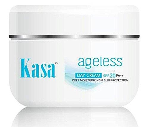 Tint Moisturizer (Kasa Face Cream Anti Wrinkle Natural Day Moisturizer Cream[ with SPF 20 PA++ Sun protection] Natural extracts of Avocado, Pomegranate, Aloevera, Cucumber, Green Tea 1.76 OZ)