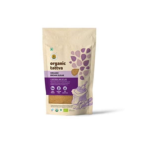 Organic Tattva Brown Sugar, 500g