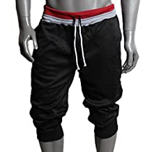 Donalworld Men's Casual Baggy Shorts Sport Jogging Yoga Pants
