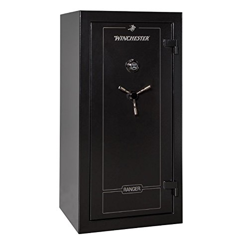 Winchester Ranger 26 Gun Safe- Black with Elock