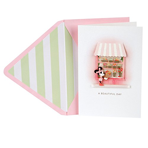 Hallmark Signature Mother's Day Card (Disney Minnie Mouse Beautiful Day for Beautiful You)]()