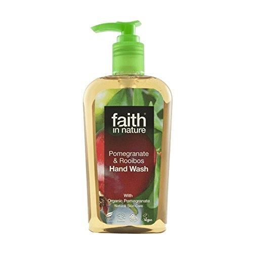 ボウル協力和らげるFaith In Nature Pomegranate & Rooibos Handwash 300ml (Pack of 2) - 自然ザクロ&ルイボス手洗いの300ミリリットルの信仰 (x2) [並行輸入品]