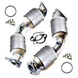 Catalytic Converter Replacement | Front Passenger & Driver Side 2007-2008 Infiniti G35 3.5L | 2008-2009 G37 | 2007-2008 Nissan 350Z | Sedan ONLY | Direct Fit with Gaskets & Bolts Included OBDII
