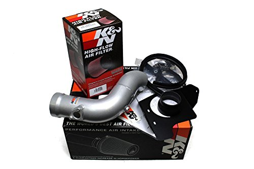 (K&N Typhoon Cold Air Intake Kit + Filter Silver 69-0026TS for 09-14 Acura TSX 2.4L L4 )