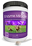Image of NUSENTIA Enzymes for Dogs & Cats - Enzyme Miracle - Systemic & Digestive Enzyme Formula - Powder - 364 Servings - Vegetarian
