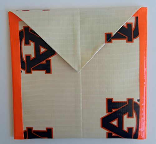 Auburn University Tigers NCAA Duct tape Coin Pouch
