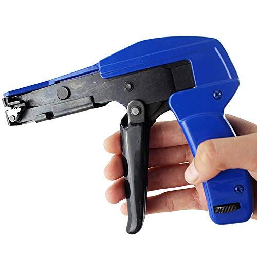 Zip Tie Gun >> Cable Tie Gun Knoweasy Fastening Cable Tie Tool Die Cast Steel Import It All