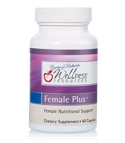 Female Plus with Vitex, I3C, 7-Keto DHEA, B6 for hormone balance, libido, energy and mood