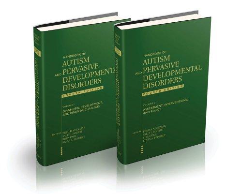 Handbook of Autism and Pervasive Developmental