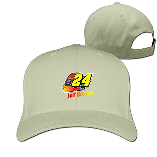 Jeff Gordon Checkered Flag Plain Adjustable Cap Trucker Hat Best Custom