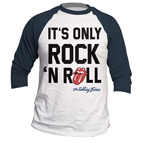 - Only Rock N' Roll Raglan Baseball