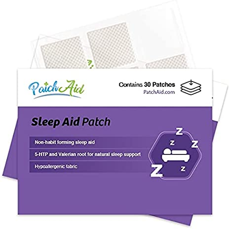 Sleep Aid Topical Patch by PatchAid (1-Month Supply)