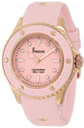 Freelook Women's HA9035RG-5ZE Rose Gold-Tone Stainless Steel Watch with Pink Band