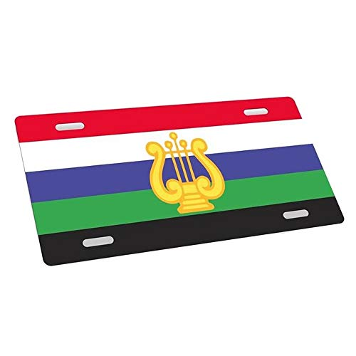 Greekgear Tau Beta Sigma Flag License Cover ()