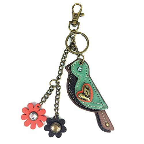 Chala Mini Keychain with Charm - Bird -