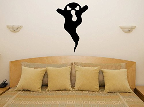 (43SabrinaGill Halloween Cartoon Ghost Wall Decal Funny Humour Sexy Naughty Van Motorbike Boat Wall Sticker 22