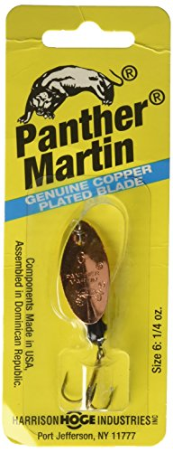 - Panther Martin Trout, 1/16 oz, Copper/Black Yellow Dots