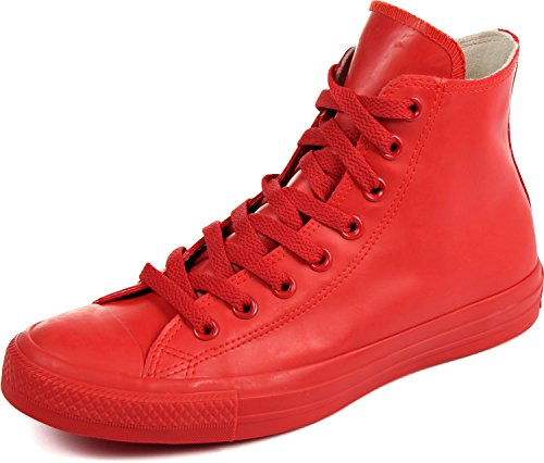 Taylor All Star Rubber Shoes, Size: 3.5 D(M) US Mens/5.5 B(M) US Womens, Color Red ()