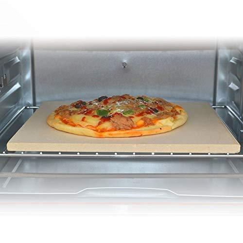 DZLXY Rectángulo Pizzas a la Piedra, Piedra cordierita Pizza Placa ...
