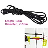 XuBa 2.2mm Release Archery Compound Bow String Nock D Loop Rope Cord Bowstring