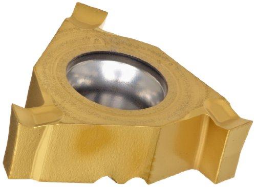 - Sandvik Coromant CoroThread Carbide Grooving Insert, CC Geometry, GC1135 Grade, Multi-Layer Coating, 3 Cutting Edges, 254LG-16CC01-215, Left Hand Orientation, 0.085