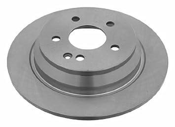 febi bilstein 24077 Brake Disc Set 2 Brake Disc No rear full of Holes 5