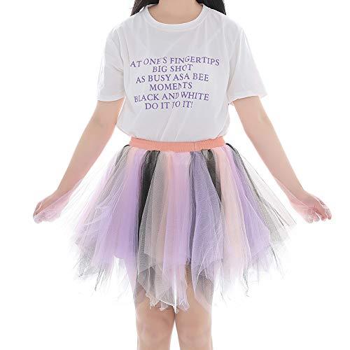 Noel FEOYA Pliss Cooktail Carnaval Tutu 3 Photo Dguisement Jupe Jupon Extensible Cadeau Jupette Fte Tulle Mariage 65 100CM Danse Taille Ballet Femme Soire Bouffant 4a4qw6Ar