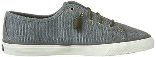 Sperry Top-sider Dames Zeekraal Wasachtig Model Sneaker Medium Grijs