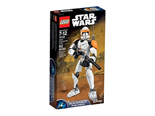 Clone Wars Backpack - LEGO Star Wars 75108 Clone Commander Cody Building Kit