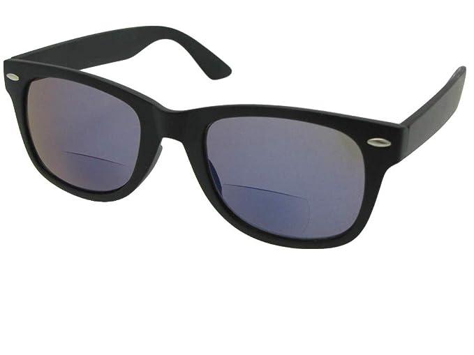 Amazon.com: Estilo B10 aspecto retro espejo azul lente ...