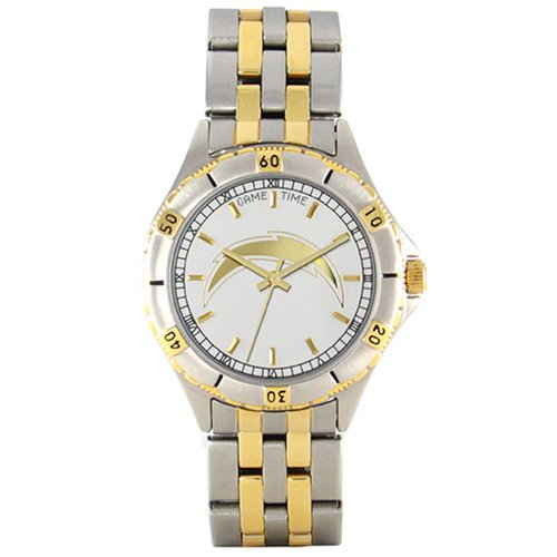 NFL Men's FT-SD General Manager Series San Diego Chargers Watch by Game Time