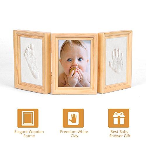 Baby Footprint Photo Frame - Best Baby Shower Gift Keepsake