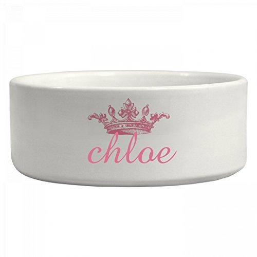 Princess Chloe Doggie Bowl: Ceramic Pet Bowl