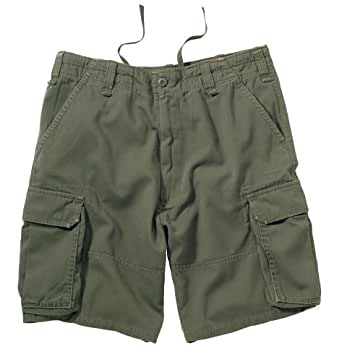 Olive Drab Vintage Paratrooper Cargo Shorts 2160 Size Small