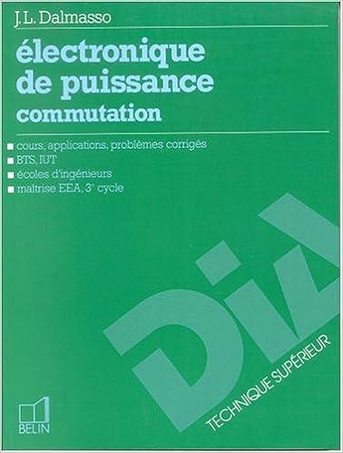 Pdf Telecharge Des Livres Electronique De Puissance