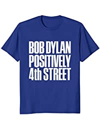Bob Dylan Positively 4th Street Tee Officially Licensed