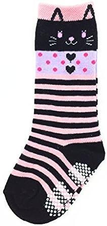 Coco Little Girls Socks Toddlers Cotton Socks 1-3 years Keen High Socks,3 Pairs