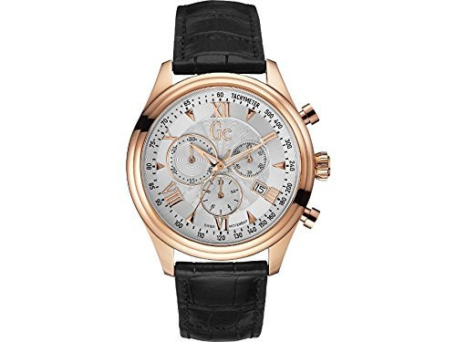 GC by Guess Mens Watch Sport Chic Collection B1 - Class Chronograph Y04004G1