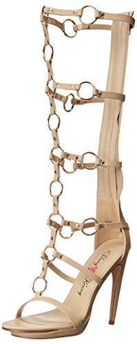 Penny Loves Kenny Women's Merino Dress Sandal Nude Matte